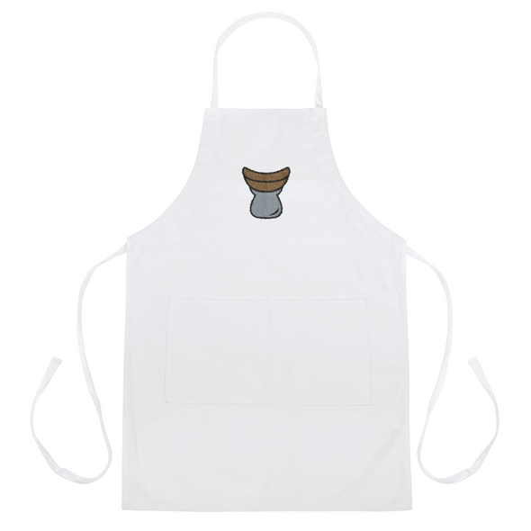 Sticky Rice Steamer Embroidered Apron