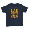 Laos By Popular Demand Youth Short Sleeve T-Shirt