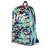 Laos Teal Camo All-Over Backpack