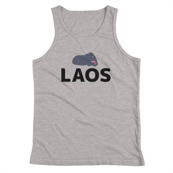 Laos Baby Elephant Kids Tank Top