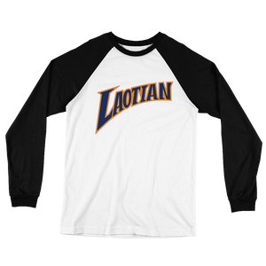 Laotian Dubs Long Sleeve Baseball T-Shirt