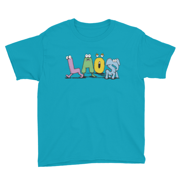 Laos Kaws Inspired Youth T-Shirt