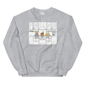 Lao Food Characters Kitchen Sweatshirt