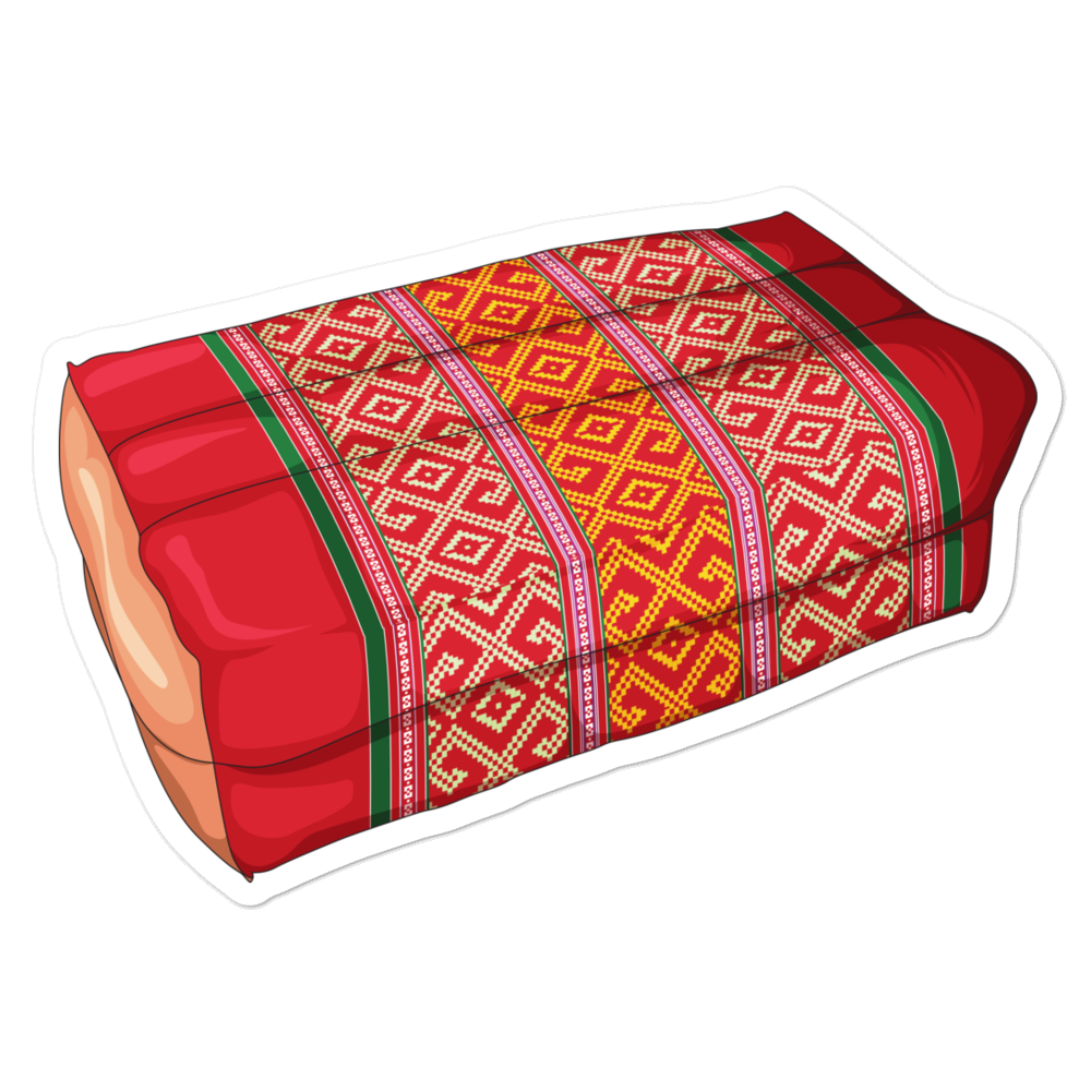 Lao Pillow Bubble-free stickers