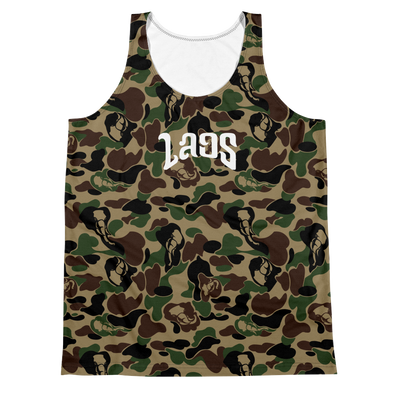 Elephant Camo Sublimated Tank Top
