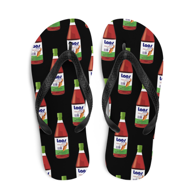 Fish Sauce All-Over Flip-Flops