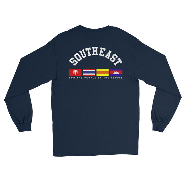 Southeast Flags Back Hit Long Sleeve T-Shirt