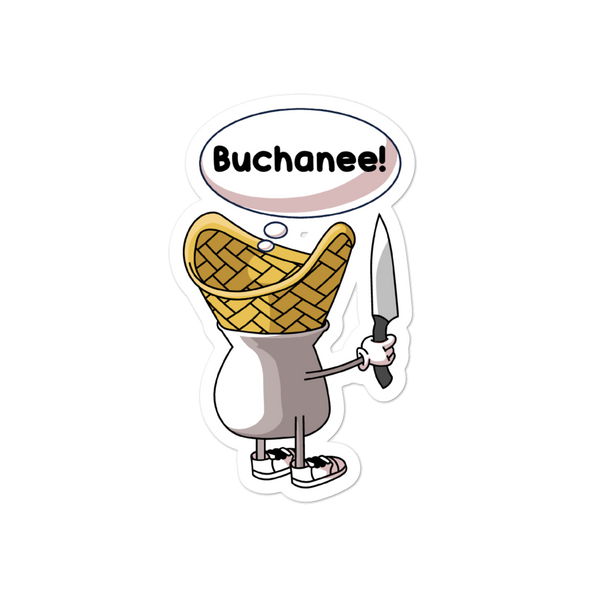 Character Buchanee Bubble-free stickers