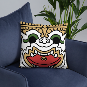 Monkey Warrior Hanuman Basic Pillow