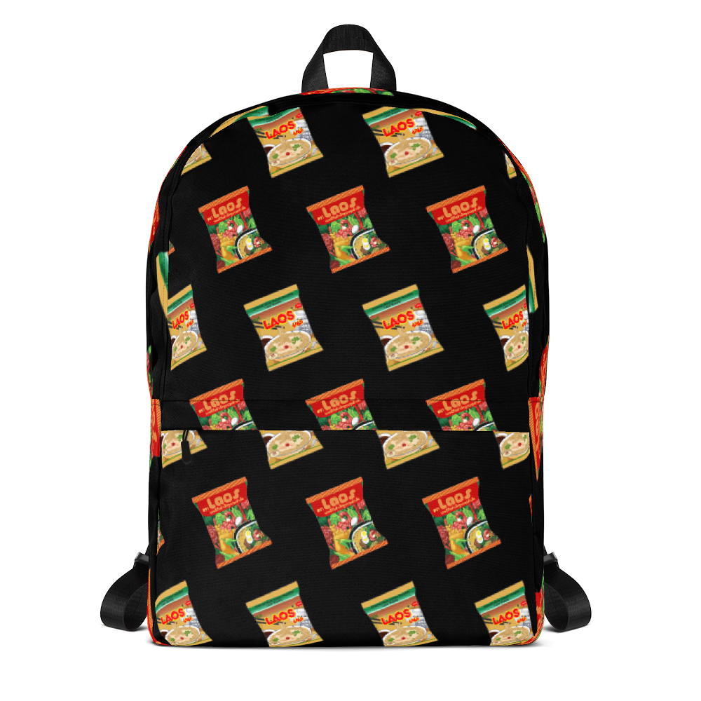 Laos Noodles All-Over Print Backpack