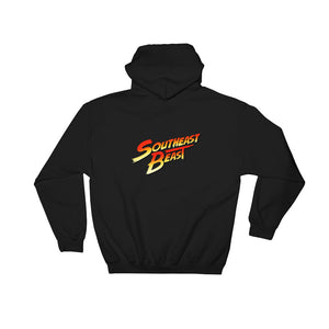Southeast Beast Figther Back Hit Hoodie