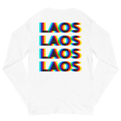 Laos 3D Champion Long Sleeve Shirt