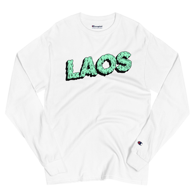 Laos Drip Men's Champion Long Sleeve Shirt