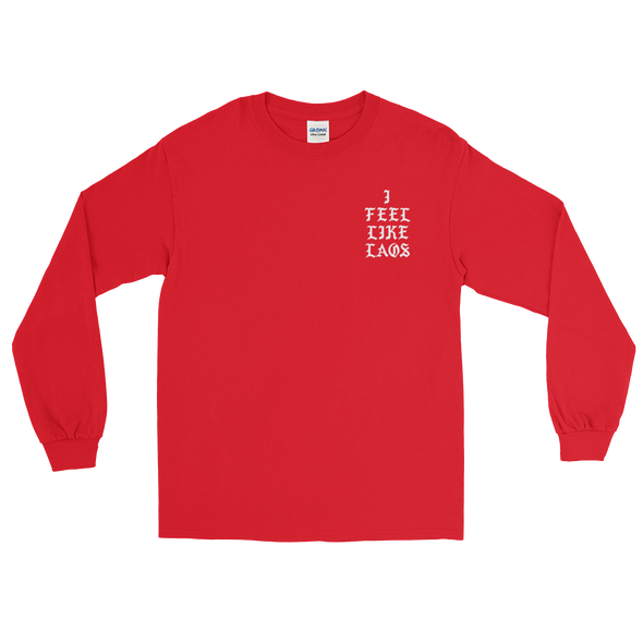 I Feel Like Laos Long Sleeve T-Shirt