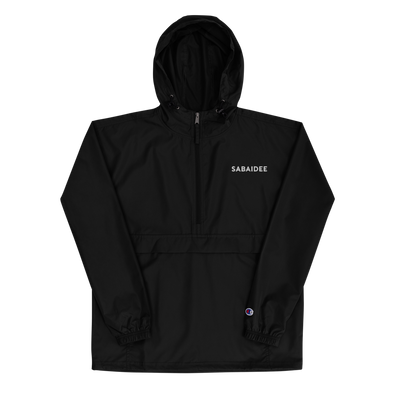 Sabaidee Embroidered Champion Packable Jacket
