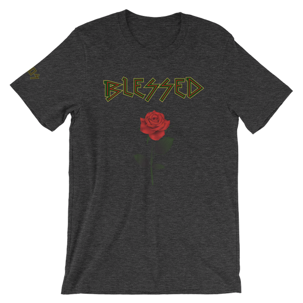 Blessed Rose Zigzag T-Shirt