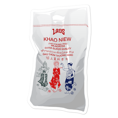 Khao Niew Bag Bubble-free stickers