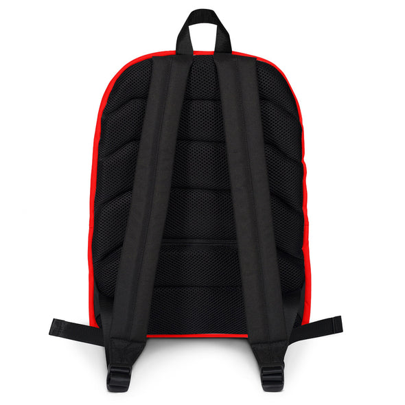 Laos Supply Red Backpack