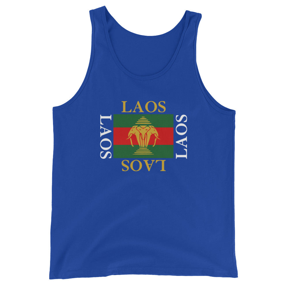 Laos Elephant Gang Tank Top