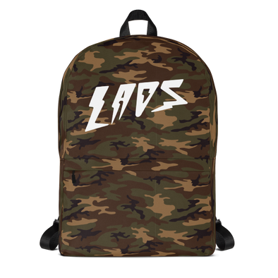 Laos Woodland Camo All-Over Backpack