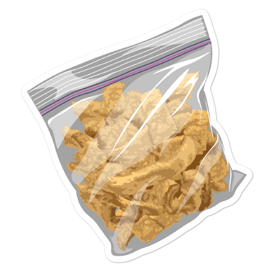 Pork Rind Bubble-free stickers
