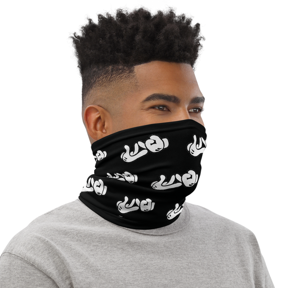Lao Hand Sign Neck Gaiter