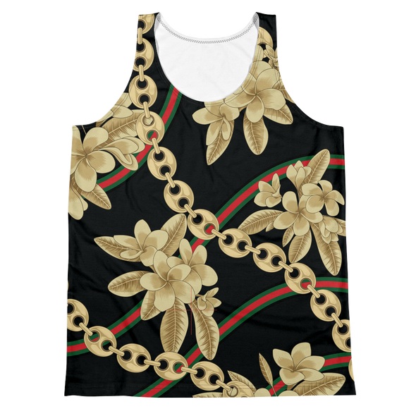 Dok Champa Chain All-Over Tank Top