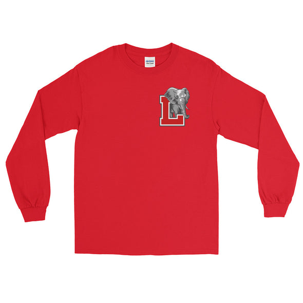 Laos Elephant L Logo Long Sleeve T-Shirt