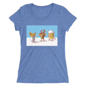 Lao Food Character Ladies t-shirt