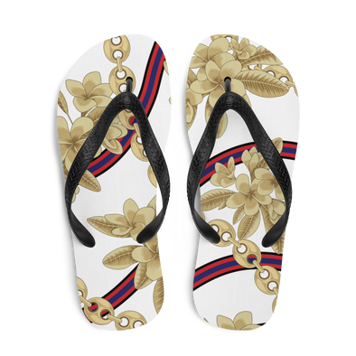 Dok Champa Chain All-Over Flip-Flops