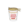 Send Noods Cup Bubble-free stickers