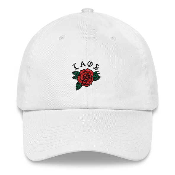 Laos Rose Logo Dad hat
