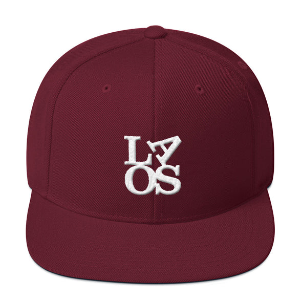 Laos Love Snapback Hat