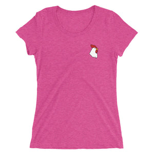 Chicken Head Ladies T-Shirt