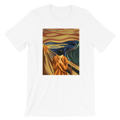 Monk Pray Paint T-Shirt