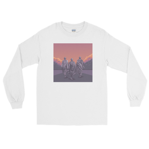 Monk March 3 Long Sleeve T-Shirt