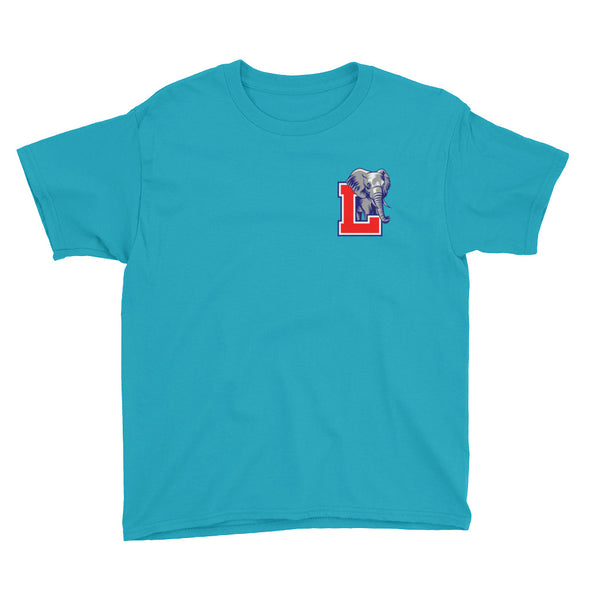 Laos Elephant L Youth T-Shirt