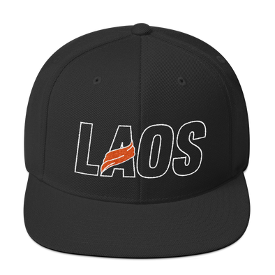LAOS Sash Outline Snapback Hat