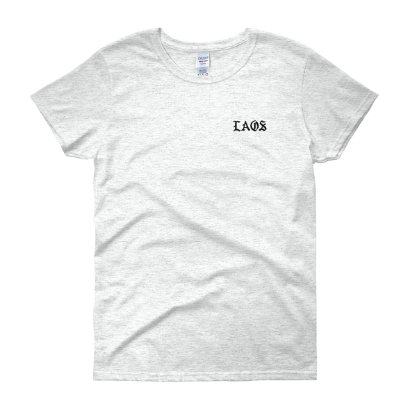 Laos Old English Pocket Hit Women's t-shirt