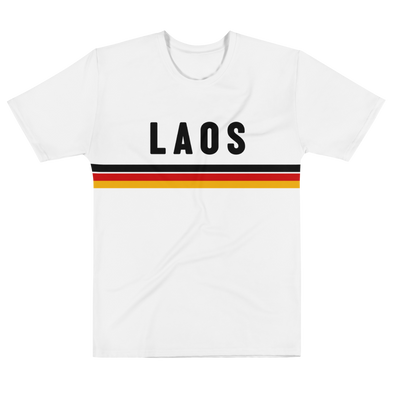 Laos Stripe All-Over Men's T-shirt