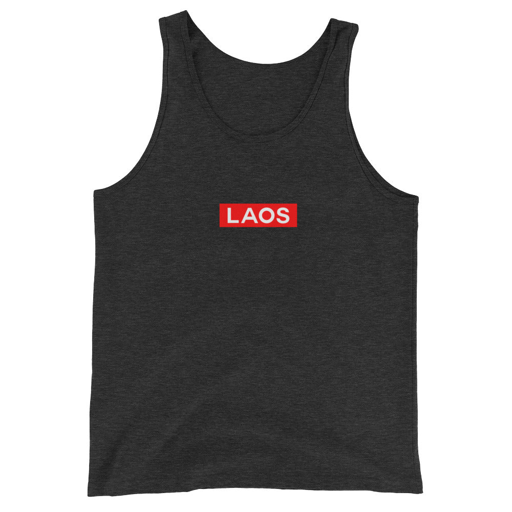 Laos Box Logo  Tank Top