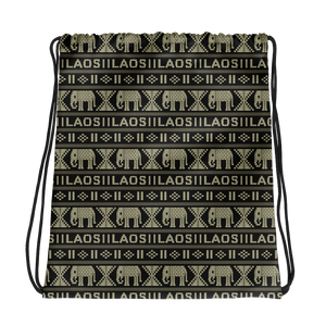 Elephant All-Over Drawstring bag
