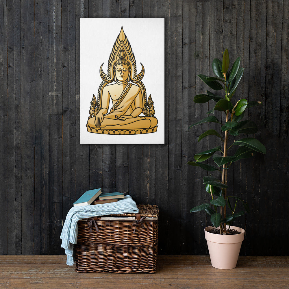 Golden Buddha Canvas