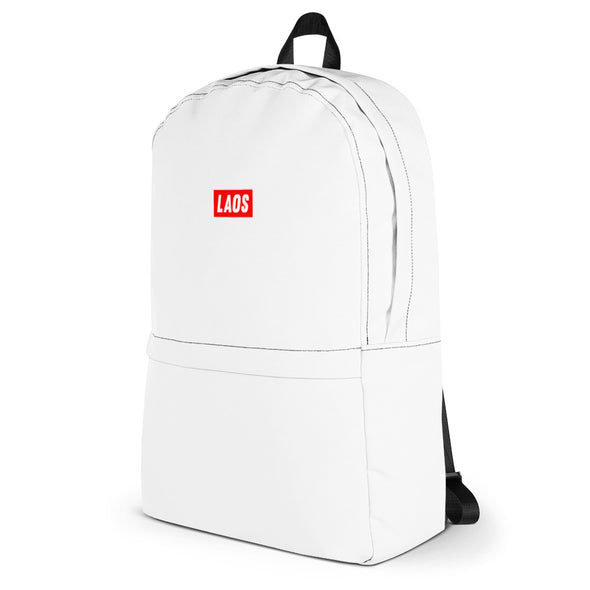 Laos Supply White Backpack
