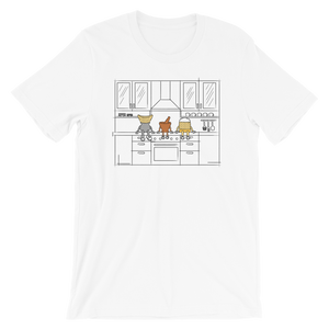 Lao Food Characters Kitchen T-Shirt