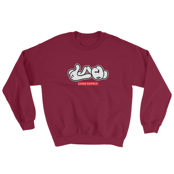 Lao Hand Sign Sweatshirt