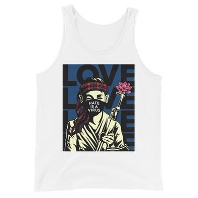 Hate Is A Virus Soldier Tank Top