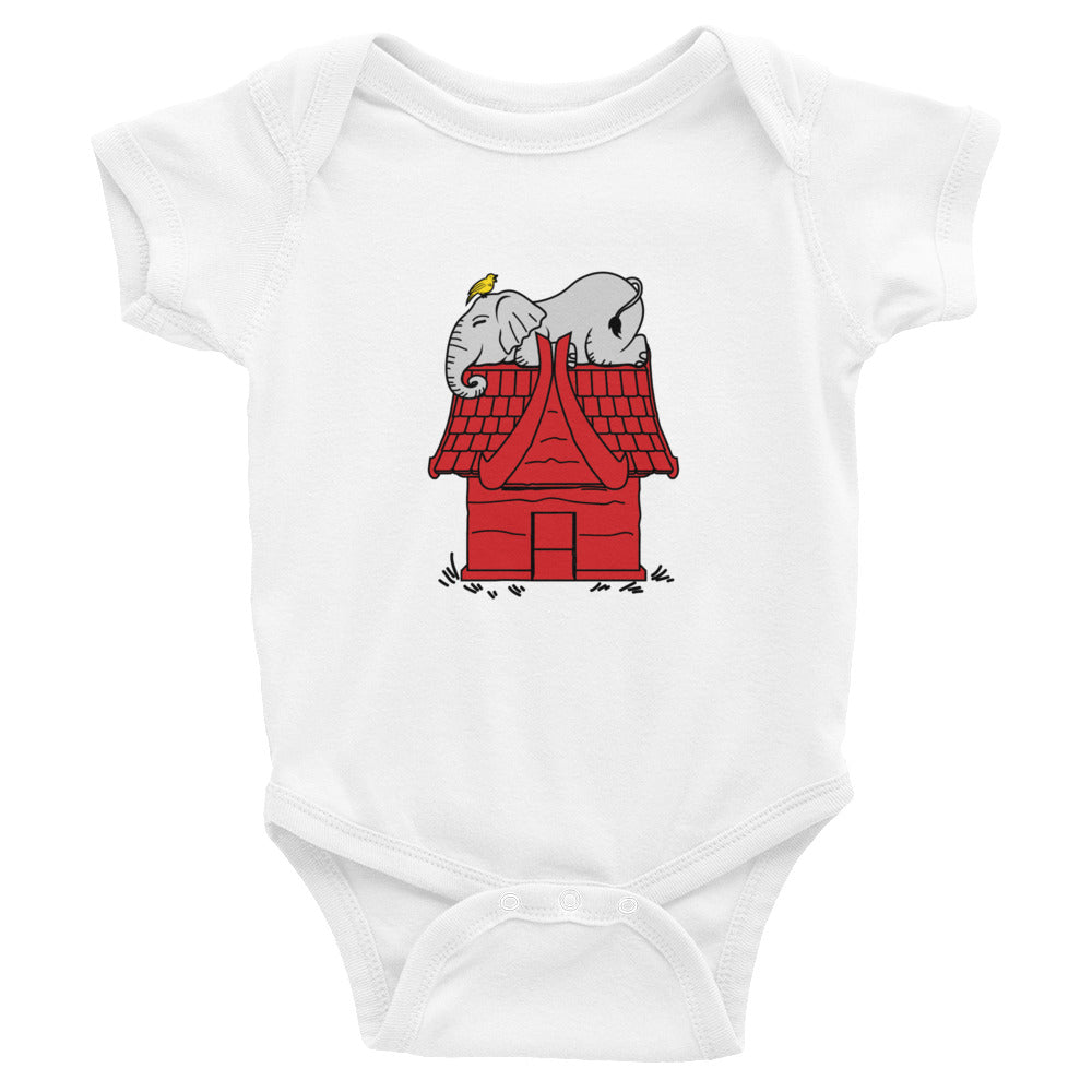 Elephant Snoopy Infant Bodysuit