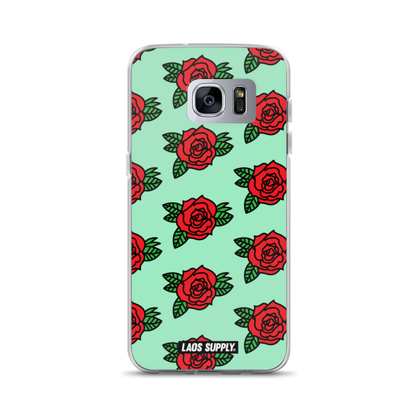 Laos Rose Samsung Case