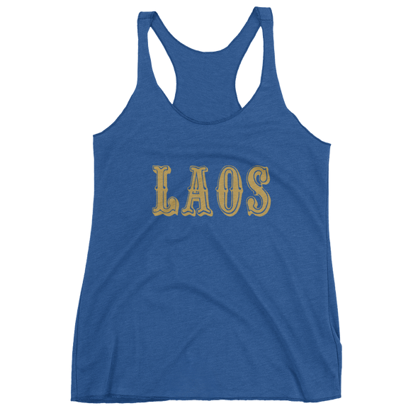 Gold Rush Women's Racerback Tank